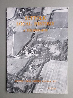 Suffolk Local History - A Short Bibliography P/b 1970