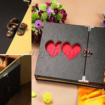 Hollowed Heart Love Photo Image Album Scrapbook DIY Craft Memory Anniversary