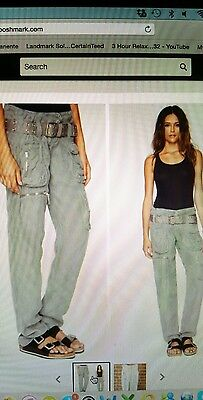 NEW Pete and Greta Cargo Pants size 2 Johnny was