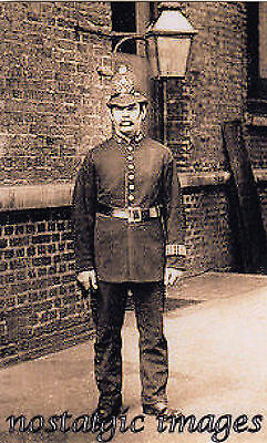 Photo Taken From A Victorian Image Of London Police Officer