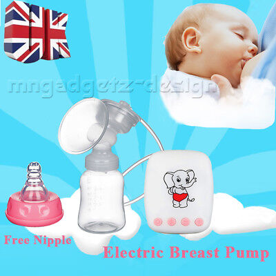 Electric Breast Pump Automatic Advanced Breastpump Baby Infant Bottle Feeding UK
