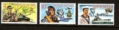 New Zealand 1968 Armed Forces Complete  set - MNH