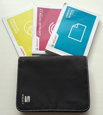 Seat Alhambra Owners Manual Handbook Pack With Wallet +Service 2012-2015 Ref1954