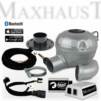 Maxhaust Soundbooster SET mit App-Steuerung Mercedes VW Golf 7 Active Sound