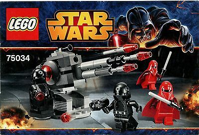 LEGO Star Wars 75034 Death Star Troopers Instruction Manual : Booklet Only