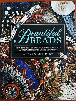 "New ""Beautiful Beads"" by Alexandra Kidd book. Jewellery for every occasion."