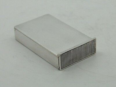 Antique Silver Vesta Case FLIP UP COVER Birmingham 1887 – George Unite VICTORIAN