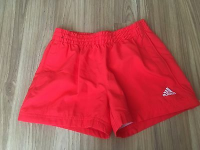 Brand New With Tags Adidas Orange Shorts Size 9-10yrs