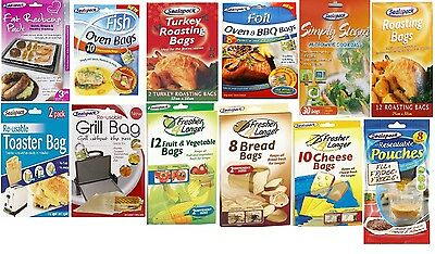 Sealapack Food Storage & Cooking Bags Steam Toasting Freezing Oven Keep Fresh