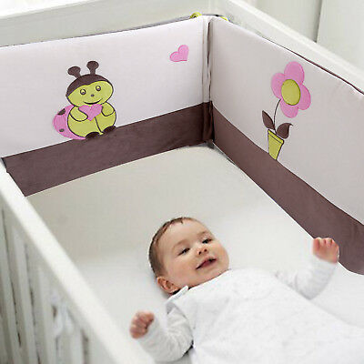 Les Kinousses Baby Crib Cot CotBed Bumper Nursery Bedding 4990