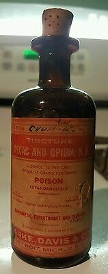 rare early 19th century opium poison tincture