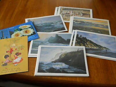 29 Vintage Scenic Post Cards Most Dated from 1986--Few Dated 1983--2 Not Dated
