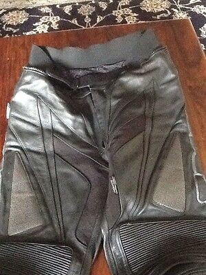 Ixs Black Motorbike Leather Jacket And Trousers