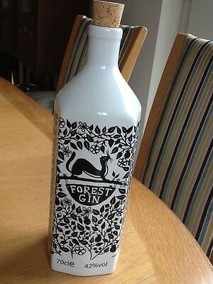 Empty Forest Gin Bottle with stop Macclesfield Forest, Peak District 70cl