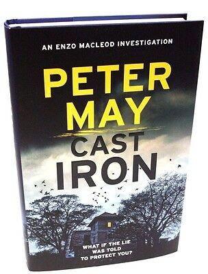 Cast Iron by Peter May SIGNED 1st EDITION