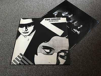 The Sound - Jeopardy - 1980 Lp With Inner Sleeve Ex/ex - More Post Punk In Shop!