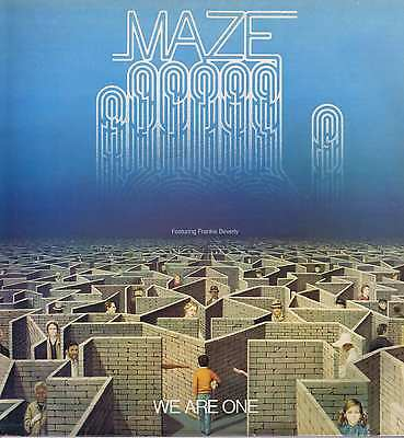 Maze Featuring Frankie Beverly – We Are One – EST 12262 – LP Vinyl Record