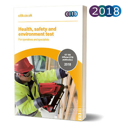 CSCS Card Test Book Health and Safety for Operatives and Specialists 2017 100/17
