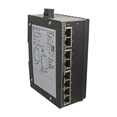 Fast Ethernet Switch, PoE/PoE+, 8 Ports - HARTING Ha-VIS eCon 3080BT-A-PP