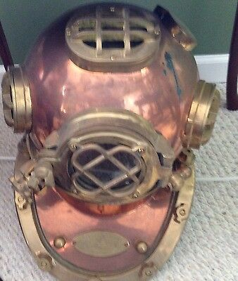 Collectible Drivers Helmet Brass/copper Classic