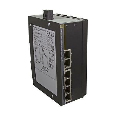 Fast Ethernet Switch, PoE/PoE+, 6 Ports - HARTING Ha-VIS eCon 3060BT-A-PP