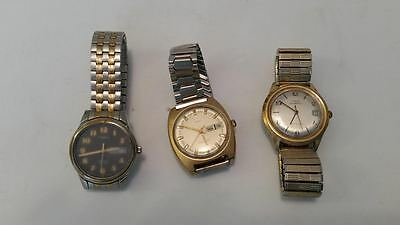 Vintage Timex watch lot(3 watches) electronic, automatic, indiglo
