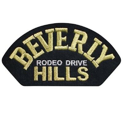 Beverly Hills, Rodeo Drive Patch - Los Angeles, California (Iron on)