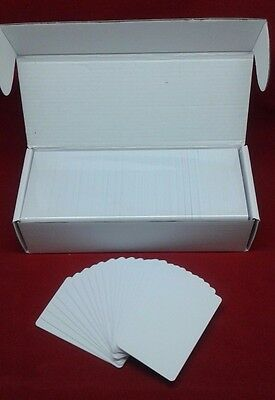 250 CR80 30Mil White Blank PVC Plastic Cards for Photo ID card thermal printers