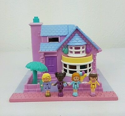 Polly Pocket Bay Window House 100% Complete  1994 Excellent condition