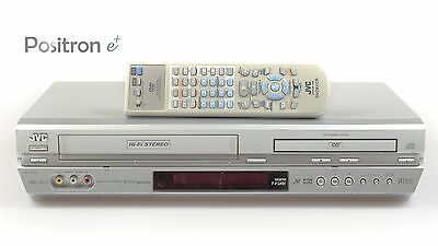 JVC HR-XV31 DVD VHS combination with Remote Control tested, One Year Warranty