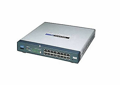Linksys / Cisco RV016 16-Port 10/100 Wired VPN Router Multi Wan