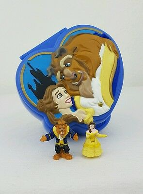 Polly Pocket Beauty and the Beast Playcase 1995 100%Complete Excellent condition