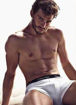 Unofficial JAMIE DORNAN Christian Grey 1 *A3* print Poster - Fifty Shades