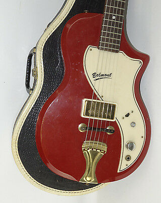 1950's Vintage Supro Belmont Electric Guitar With Original Case