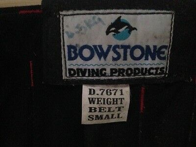 Bowstone lead shot weight dive belt Small