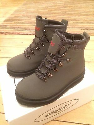 Airflo Wading Boots Size 8 Felt Sole New With Box