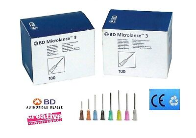 BD Microlance™ Sterile Hypodermic Needles - Medical Clinical Various Gauge Sizes