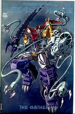 TRANSFORMERS BEAST WARS The Gathering #1 RI Variant Cover A 1:25