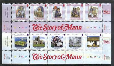 Isle of Man 2004 Manx History--Attractive Architecture Topical (1050-51) MNH