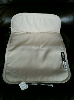 BUGABOO CAMELEON CANVAS APRON carrycot bassinet cover tailored fabric off white