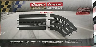 Carrera 20030364 Digital 132 - Lane Change Curve - Right, In To Out - Right
