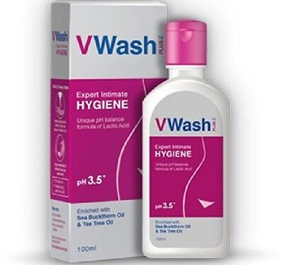 V Wash Expert Intimate Hygiene Wash 100g x 2 Best defence against women's discom