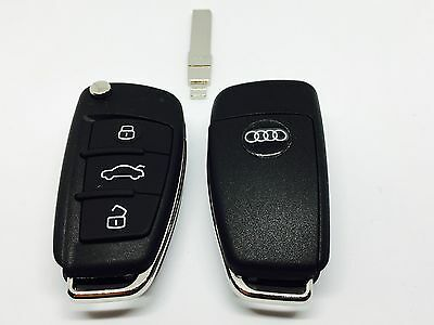 New 3 Button Remote Key For Audi A3 A4 A6 A8 Tt With Id48 Chip 4D0837231A/n