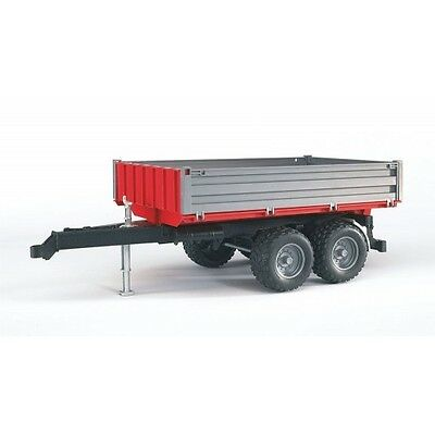 Bruder Tipping Trailer with Grey Sides (02019) Toy