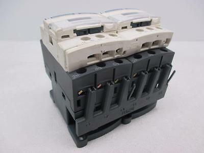 Square D LC1D18 32A 600V Reversing Contactor W/ Hardware