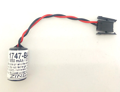 1747-BA, 1769-BA, 1747-BAS, B9650T Allen Bradley SLC PLC Battery Replacement.