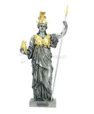 Athena Greek Goddess Of War And Wisdom Figurine Statue Sculpture  - New in Box