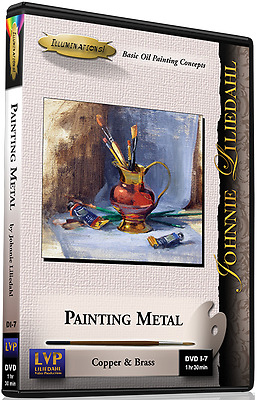 Johnnie Liliedahl: Painting Metal - Art Instruction DVD