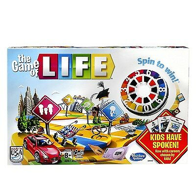 The Game of Life Board Game by Hasbro - Brand New!