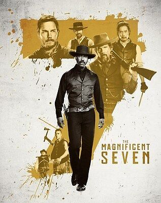 The Magnificent Seven (4000 ONLY HMV Exclusive Ltd Ed Blu-ray Steelbook) [UK]
